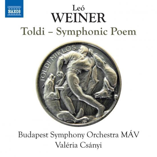 Cover Weiner: Toldi, Op. 43