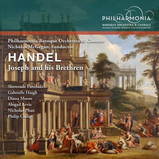 Cover Handel: Joseph and His Brethren, HWV 59