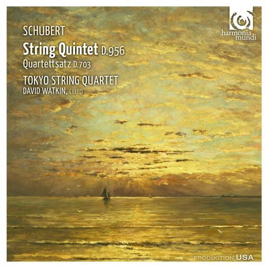 Cover Schubert: String Quintet D.956, Quartettsatz D.703