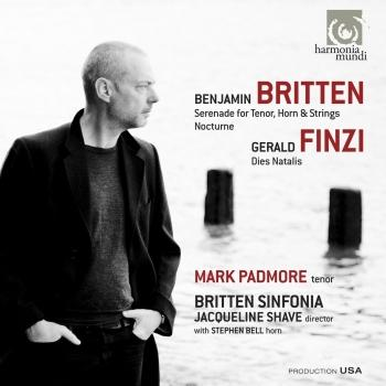 Cover Britten Serenade for tenor, horn & strings - Nocturne. Finzi Dies Natalis