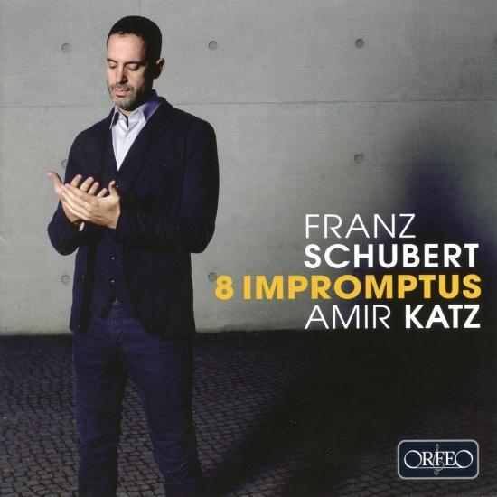 Cover Schubert: 8 Impromptus