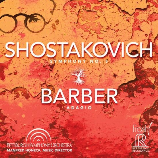 Cover Shostakovich: Symphony No. 5, Op. 47 - Barber: Adagio for Strings, Op. 11 (Live)