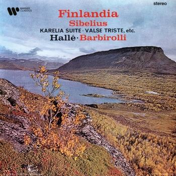 Cover Sibelius: Great Tone Poems. Finlandia, Karelia Suite, Valse triste… (Remastered)