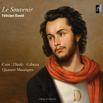 Cover Félicien David: Le souvenir
