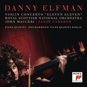 Cover Violin Concerto 'Eleven Eleven' and Piano Quartet