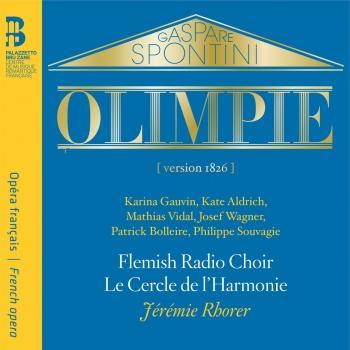 Cover Spontini: Olimpie