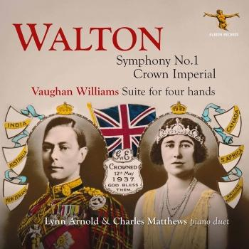 Cover Walton & Vaughan Williams: Piano Works