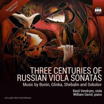 Cover Three Centuries of Russian Viola Sonatas