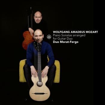 Cover W.A. Mozart: Piano Sonatas Arranged for Guitar Duo