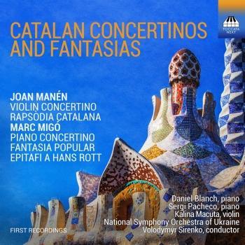Cover Catalan Concertinos & Fantasias