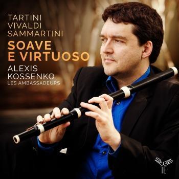 Cover Tartini, Vivaldi & Sammartini: Soave e virtuoso