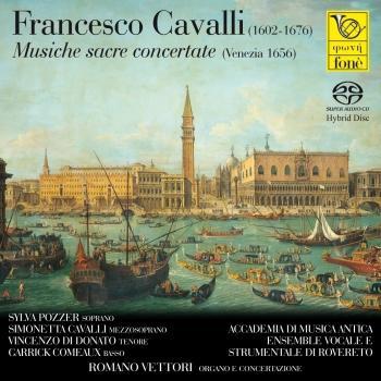 Cover Francesco Cavalli: Musiche sacre concertate