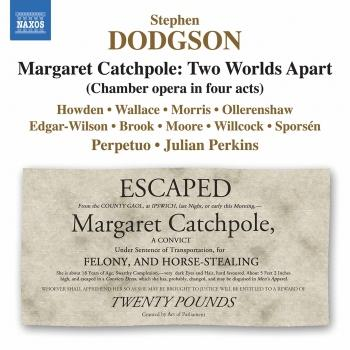 Cover Dodgson: Margaret Catchpole, Two Worlds Apart
