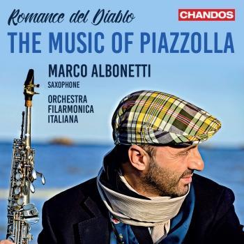 Cover Romance del Diablo: The Music of Piazzolla