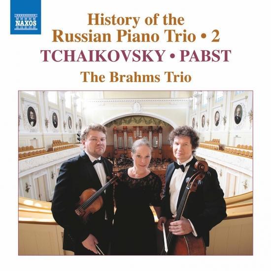 Cover History of the Russian Piano Trio, Vol. 2
