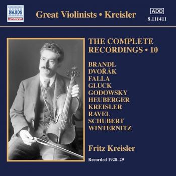 Cover Kreisler: The Complete Recordings, Vol. 10