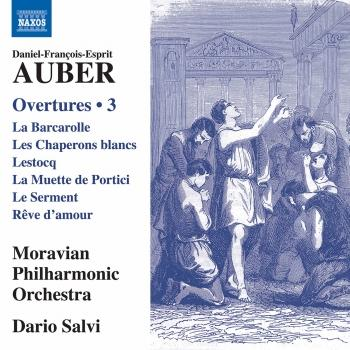 Cover Auber: Overtures, Vol. 3