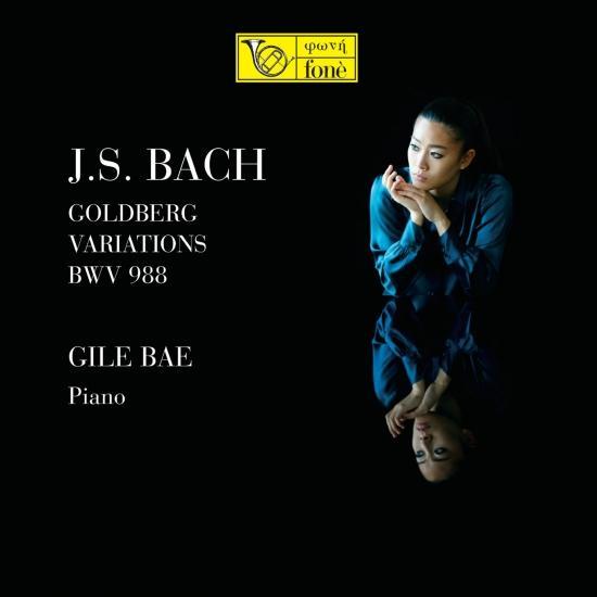 Cover J. S. Bach Golberg Variations BWV 988