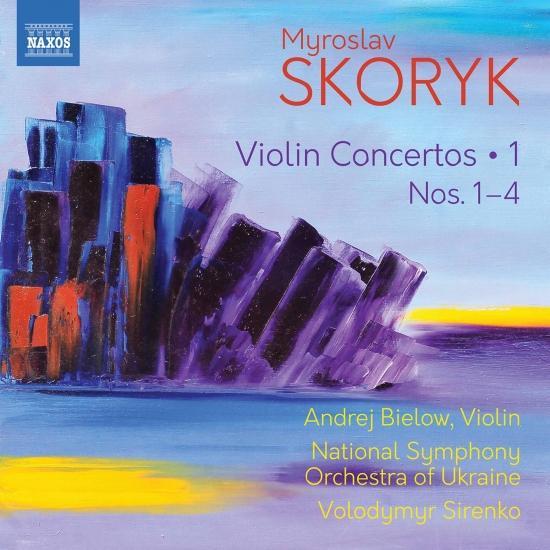 Cover Skoryk: Complete Violin Concertos, Vol. 1