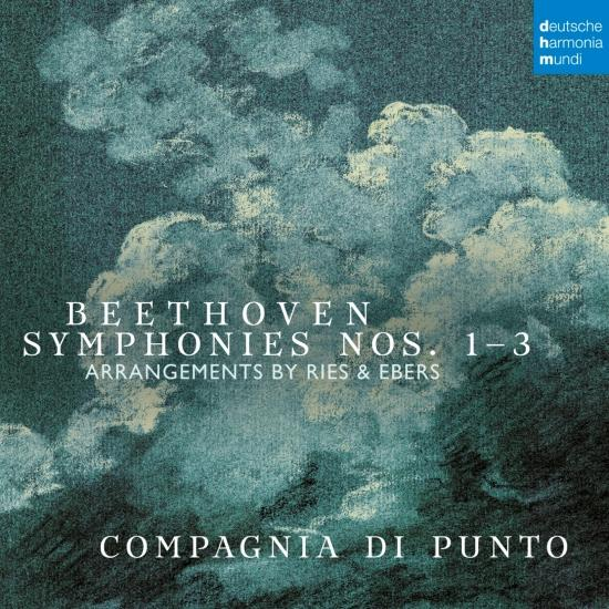 Cover Beethoven: Symphonies Nos. 1-3 (Arr. by Ries & Ebers)