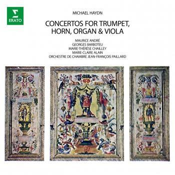 Cover M. Haydn: Concertos for Trumpet, Horn, Organ & Viola (Remastered)
