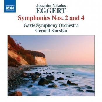 Cover Eggert: Symphonies Nos. 2 & 4