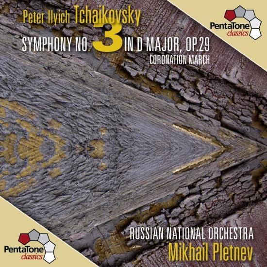 Cover Tchaikovsky: Symphony No. 3 in D major, Op. 29 - Coronation March