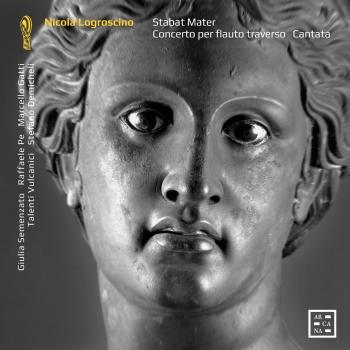 Cover Logroscino: Stabat Mater, Concerto per flauto & Cantata 'Ecco l'ara, ecco il nume'