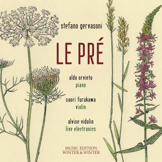 Cover Stefano Gervasoni: Le Pré