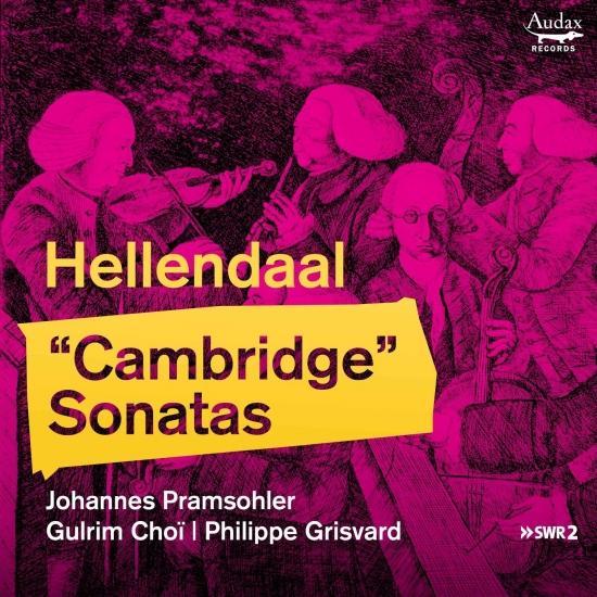 Cover Hellendaal: 'Cambridge' Sonatas