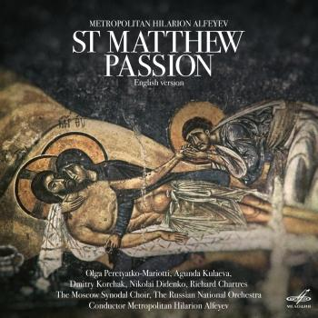 Cover Metropolitan Hilarion Alfeyev: St. Matthew Passion (English Version)