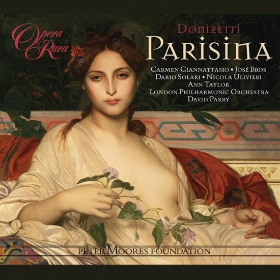 Cover Donizetti: Parisina