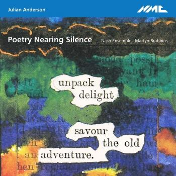 Cover Poetry Nearing Silence
