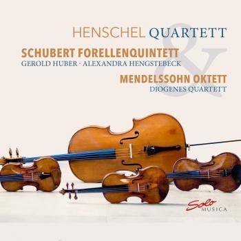 Cover Schubert: Forellenquintett & Mendelssohn: Oktett