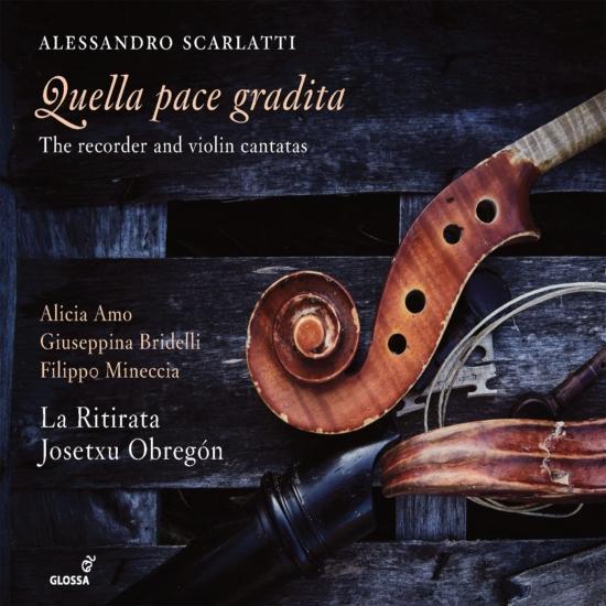 Cover Quella pace gradita: The Recorder & Violin Cantatas