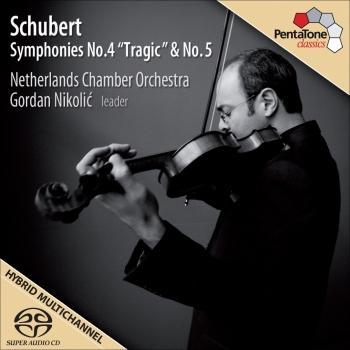 Cover Schubert, F.: Symphonies No. 4 Tragic and No. 5