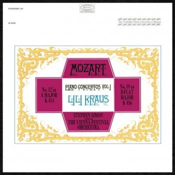 Cover Mozart: Concertos for Piano and Orchestra Nos. 12 & 18 (Remastered)