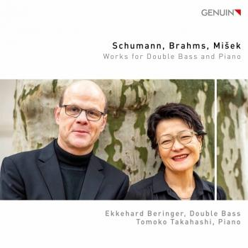 Cover Schumann, Brahms & Mišek: Works for Double Bass & Piano
