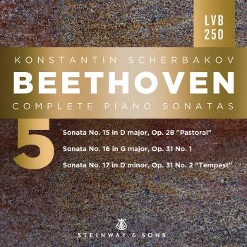 Cover Beethoven: Complete Piano Sonatas, Vol. 5