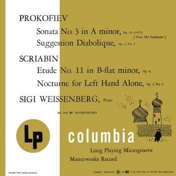 Cover Piano Music of Prokofiev and Scriabin