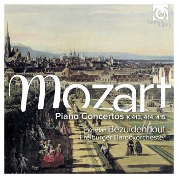 Cover Mozart: Piano Concertos, K.413, 414, 415