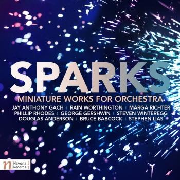 Cover Sparks: Miniature Works for Orchestra