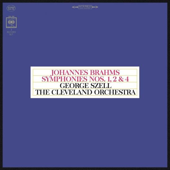 Cover Brahms: Symphonies Nos. 1, 2 & 4 (Remastered)