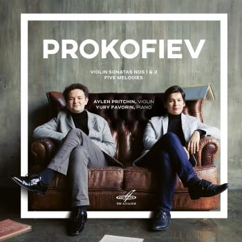 Cover Prokofiev: Five Melodies & Sonatas Nos. 1, 2