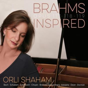 Cover Brahms Piano Sonatas, Op.117, Op.118 & Op.119