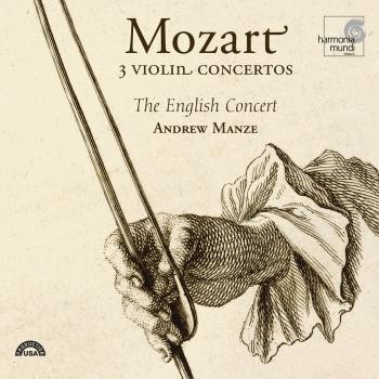 Cover Mozart: 3 Violin Concertos