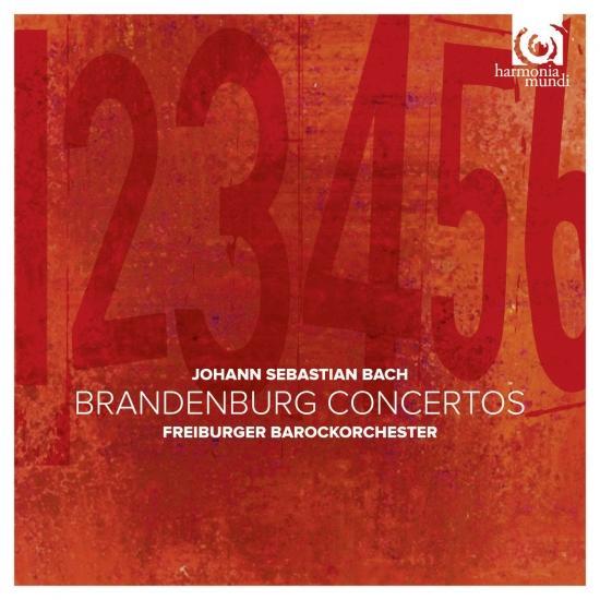 Cover J. S. Bach Brandenburg Concertos