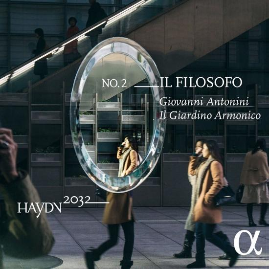 Cover Haydn 2032, Vol. 2: Il filosofo