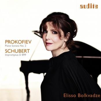 Cover Prokofiev: Sonata No. 2 / Schubert: Four Impromptus, D 899