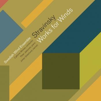Cover Stravinsky: Works for Winds